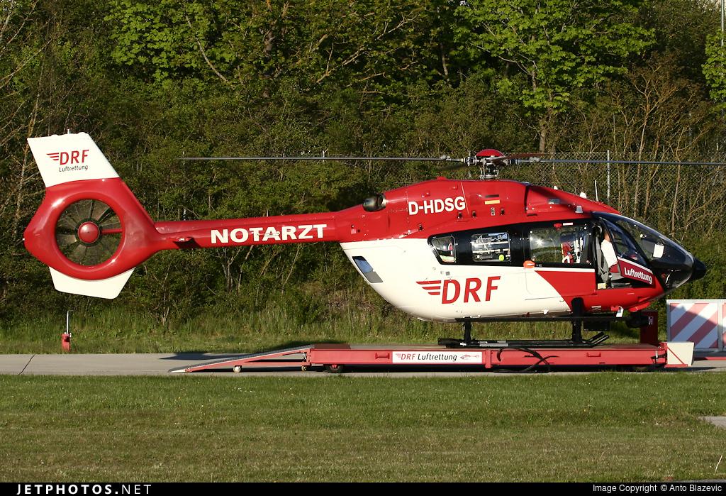 D-HDSG - Eurocopter EC 145T2 - DRF Luftrettung