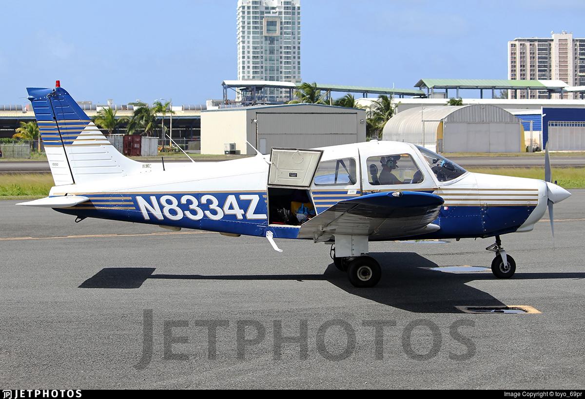 N8334Z - Piper PA-28-161 Warrior II - Private