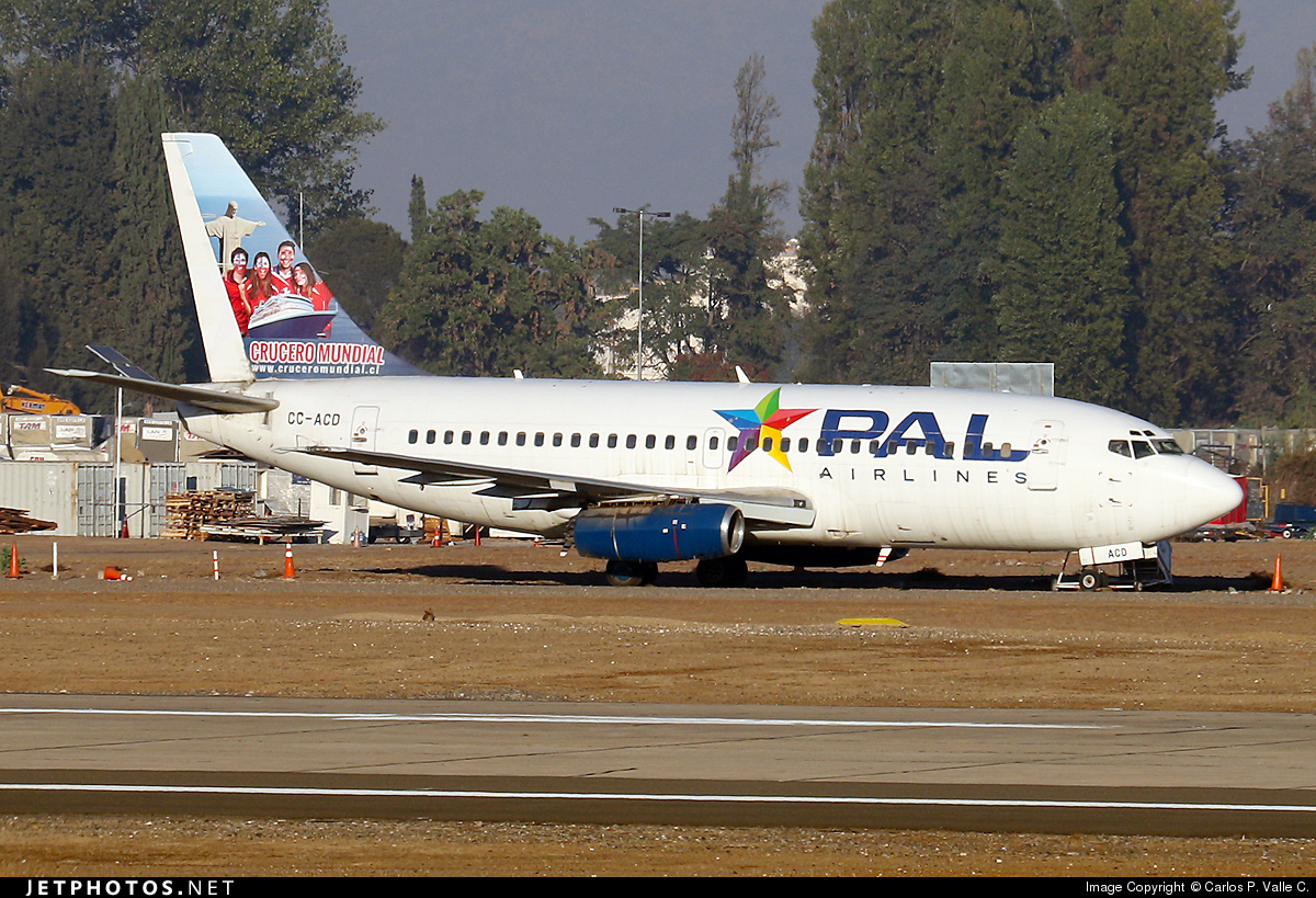 CC-ACD - Boeing 737-2K9(Adv) - PAL - Principal Airlines