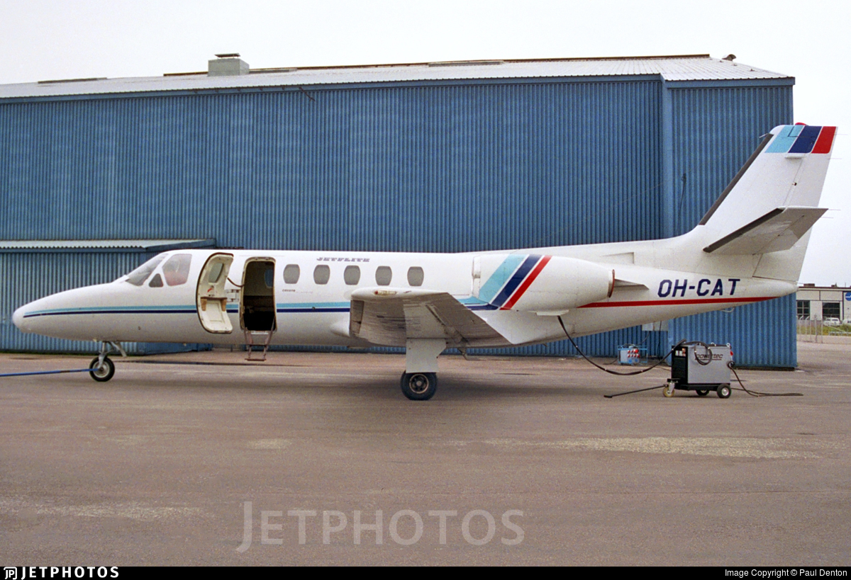 OH-CAT - Cessna 550 Citation II - Jetflite