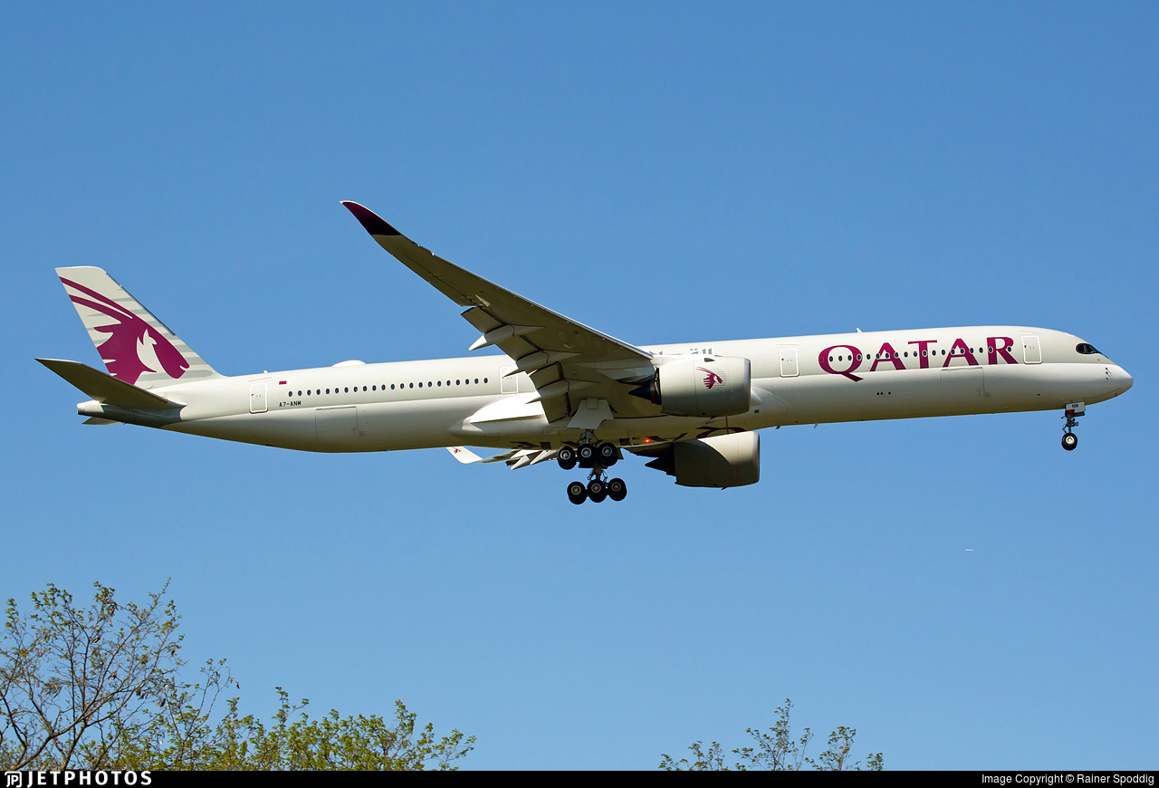 A7-ANM - Airbus A350-1041 - Qatar Airways