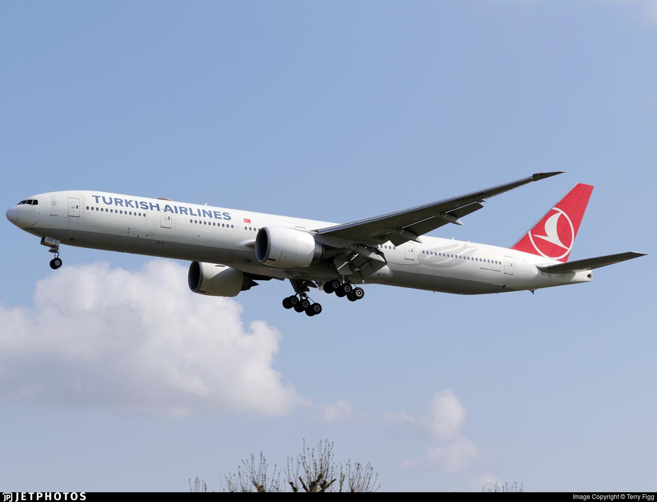 TC-JJK - Boeing 777-3F2ER - Turkish Airlines