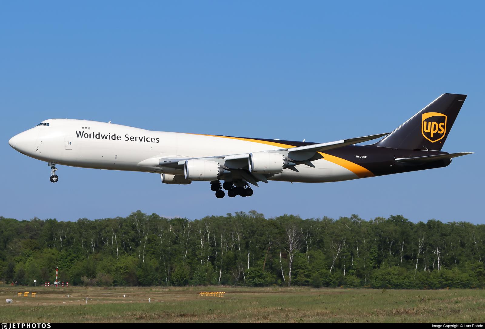 N608UP - Boeing 747-84AF - United Parcel Service (UPS)