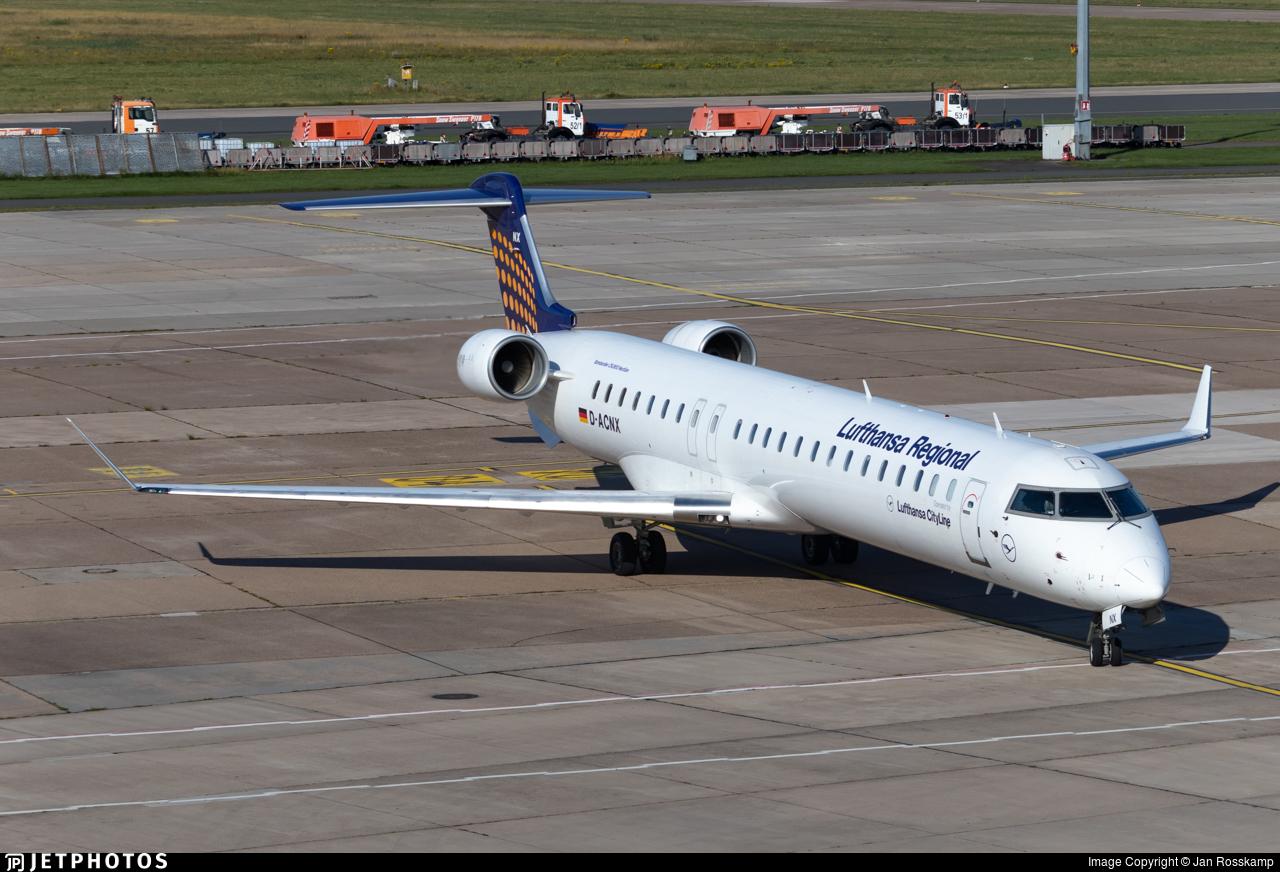 D-ACNX - Bombardier CRJ-900LR - Lufthansa Regional (CityLine)