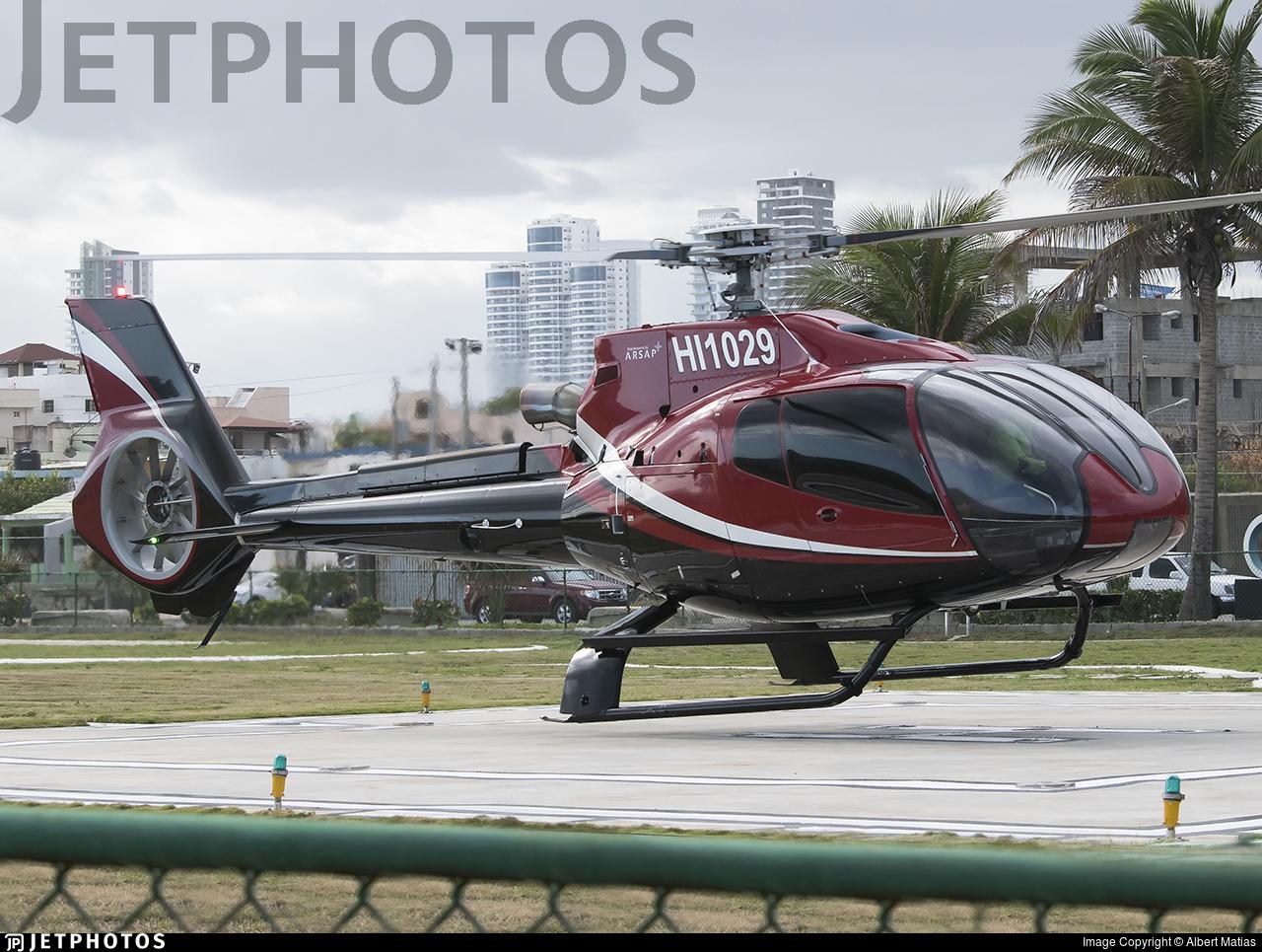 HI1029 - Eurocopter EC 130B4 - Private