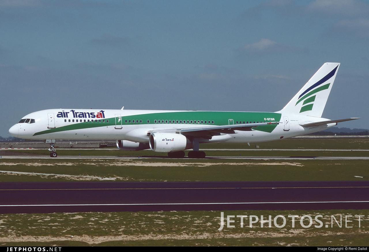 C-GTSR - Boeing 757-2K2 - Air Transat