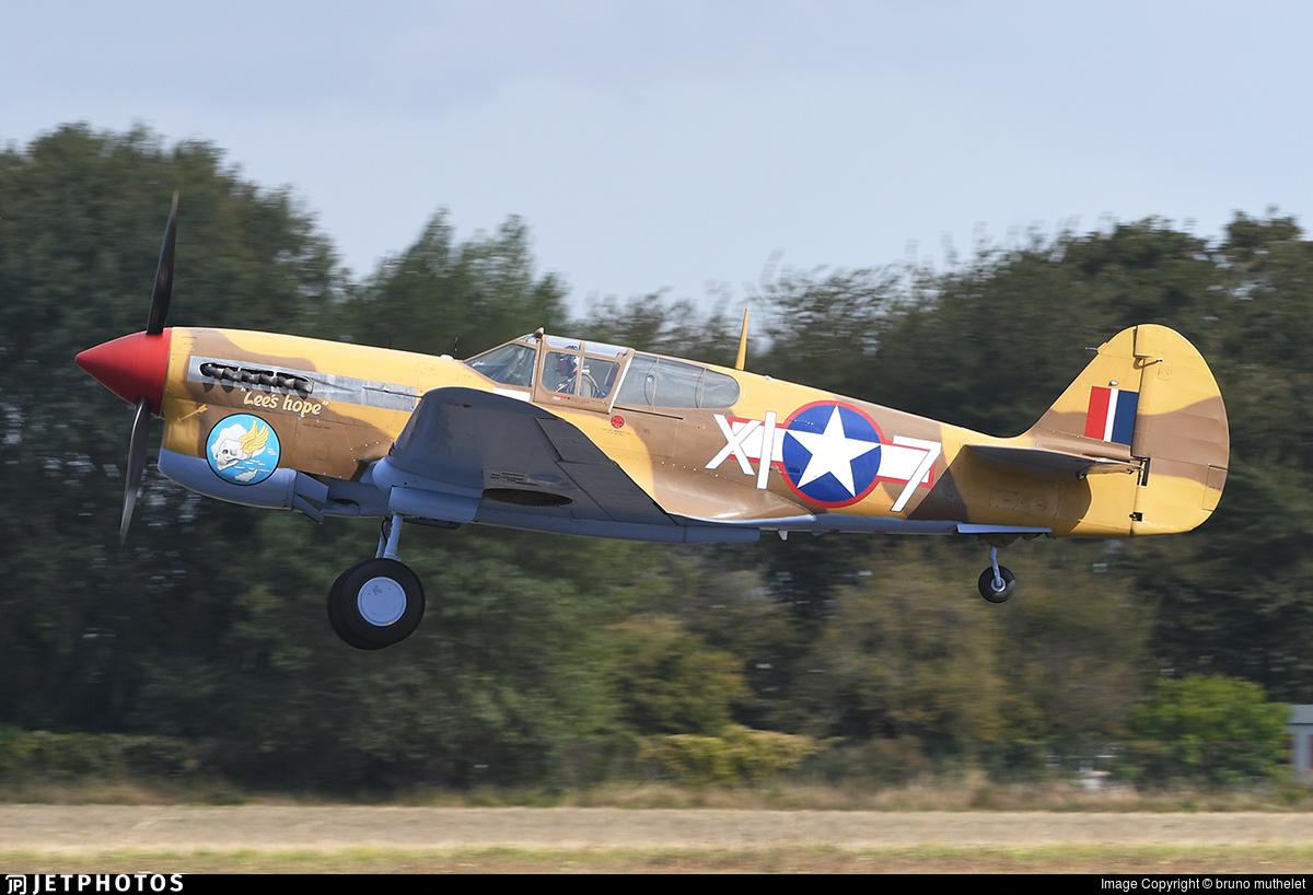 G-CGZP - Curtiss P-40F Warhawk - Private