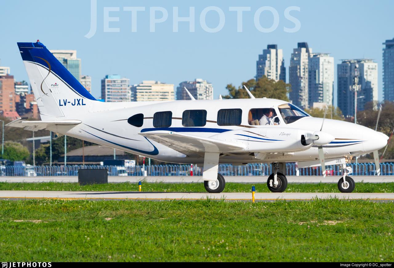 LV-JXL - Piper PA-31-310 Navajo B - Private