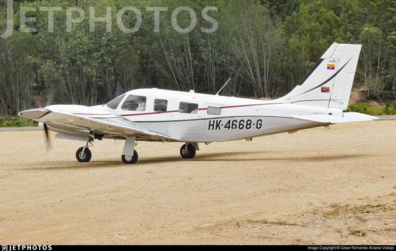 HK-4668-G - Piper PA-34-220T Seneca V - Private