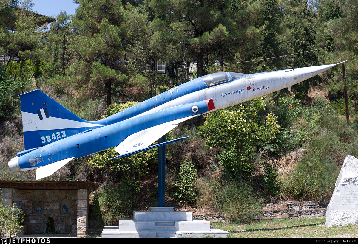 38423 - Northrop F-5A Freedom Fighter - Greece - Air Force