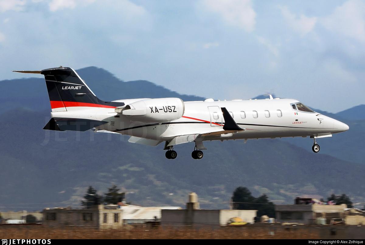 XA-USZ - Bombardier Learjet 60XR - Private