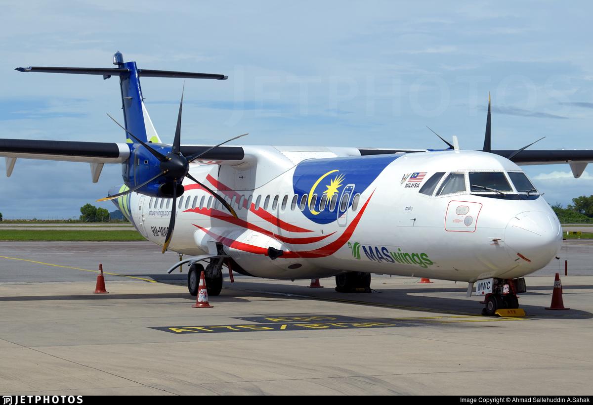 9M-MWC - ATR 72-212A(500) - MASWings