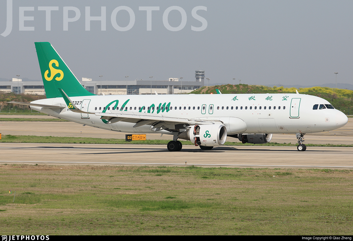B-8327 - Airbus A320-214 - Spring Airlines
