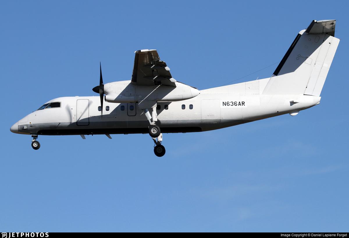 N636AR - Bombardier Dash 8-103 - EP Aviation