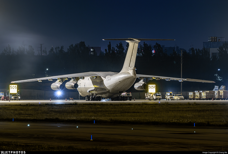 UR-CIB - Ilyushin IL-76TD - Zet Avia