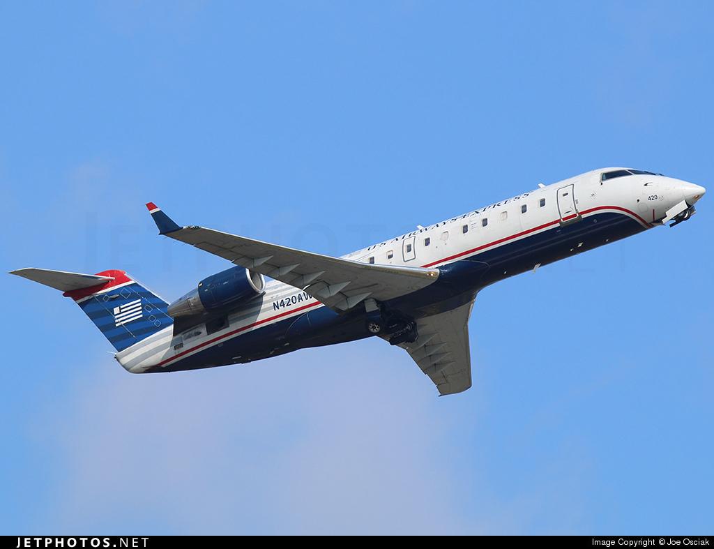 N420AW - Bombardier CRJ-200LR - US Airways Express (Air Wisconsin)