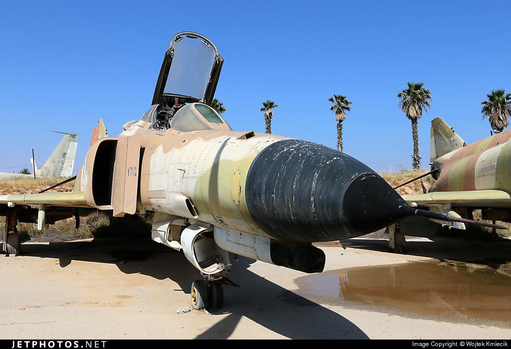 170 - McDonnell Douglas F-4E Kurnass - Israel - Air Force