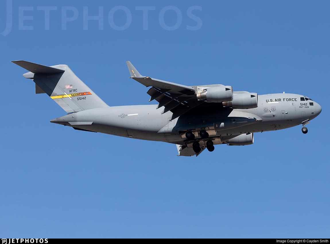 05-5142 - Boeing C-17A Globemaster III - United States - US Air Force (USAF)