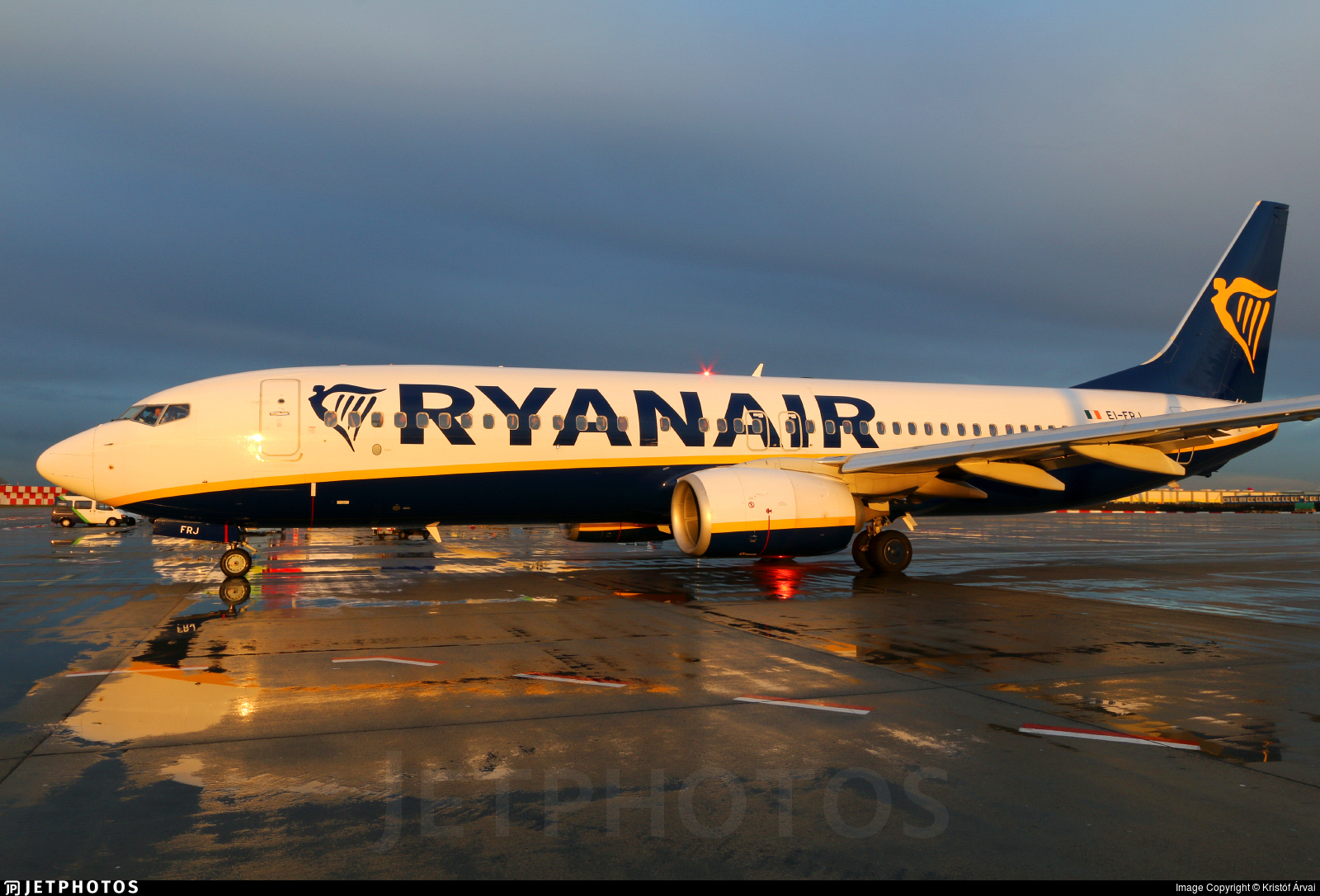 EI-FRJ - Boeing 737-8AS - Ryanair