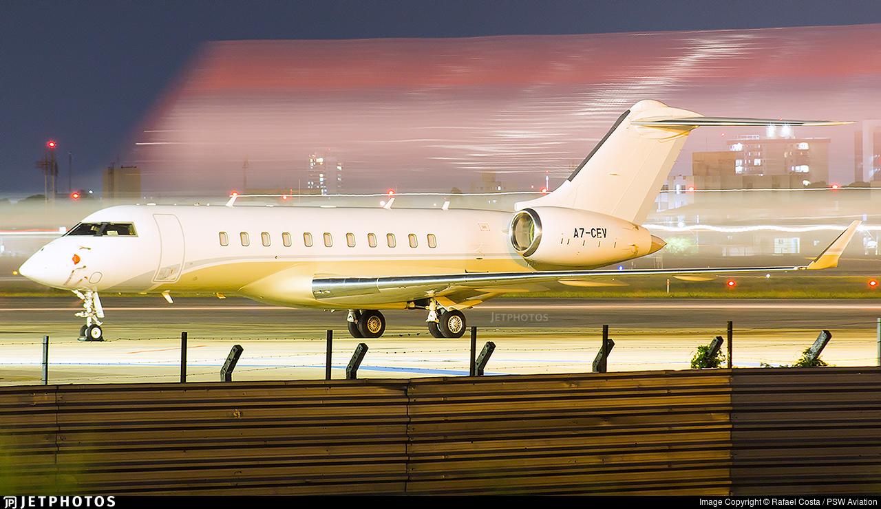 A7-CEV - Bombardier BD-700-1A11 Global 5000 - Qatar Executive