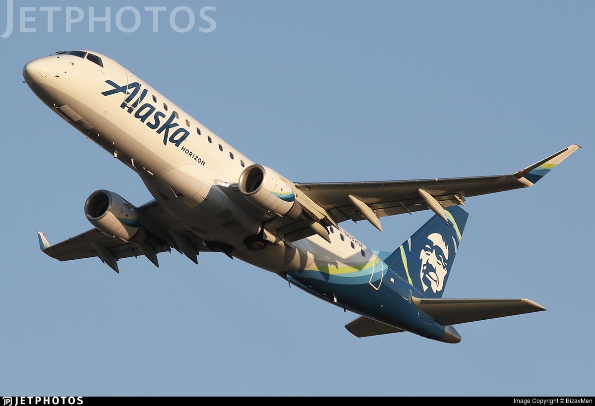 N632QX - Embraer 170-200LR - Alaska Airlines (Horizon Air)