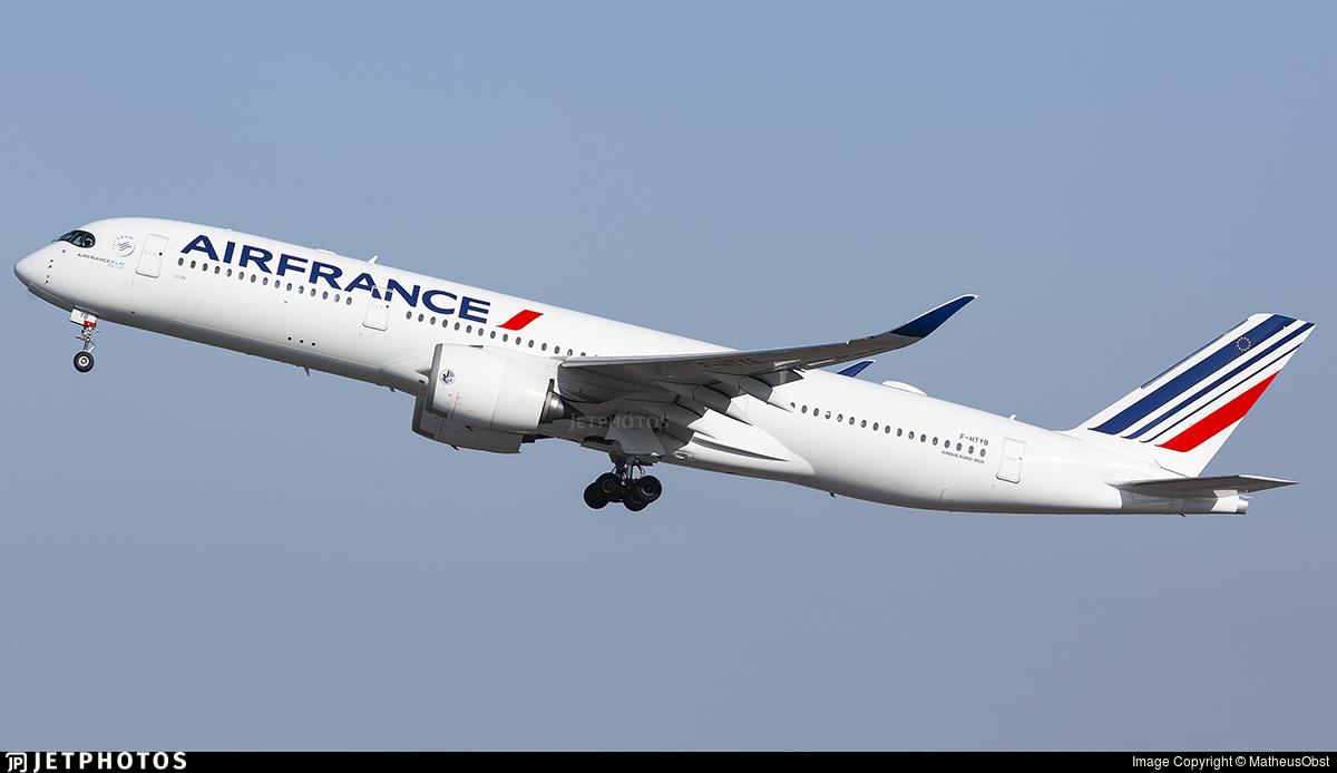 F-HTYB - Airbus A350-941 - Air France