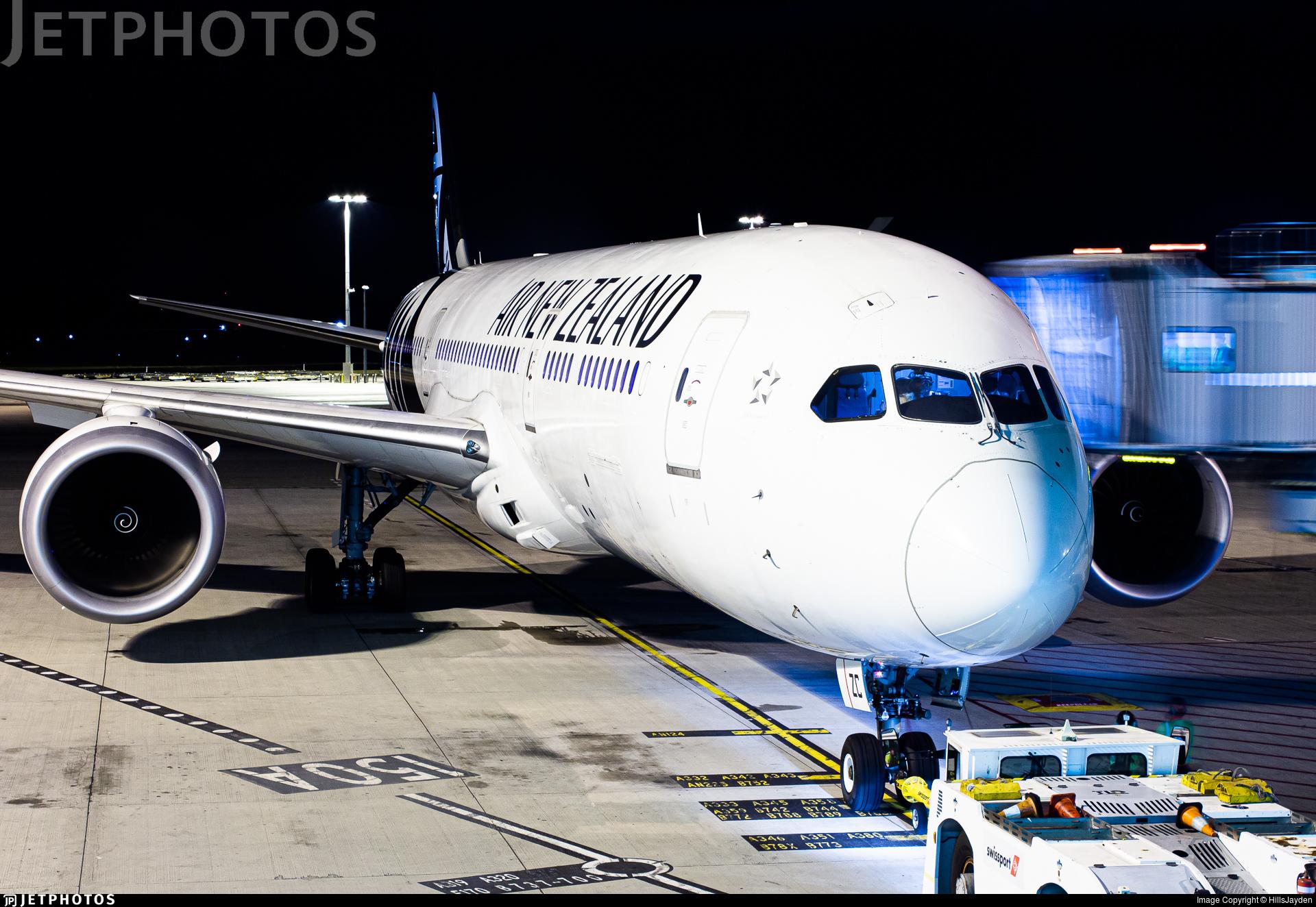 ZK-NZC - Boeing 787-9 Dreamliner - Air New Zealand