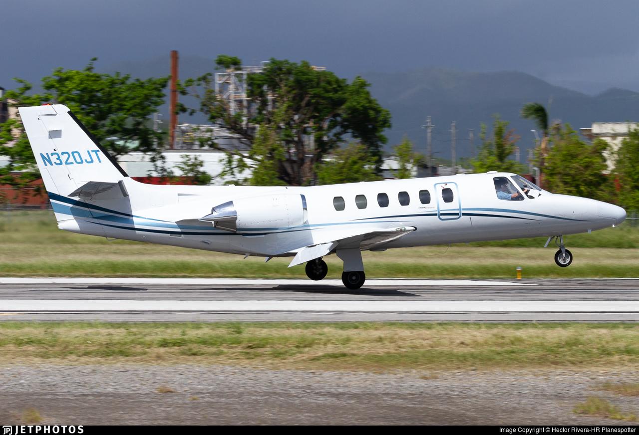 N320JT - Cessna 550 Citation II - Private