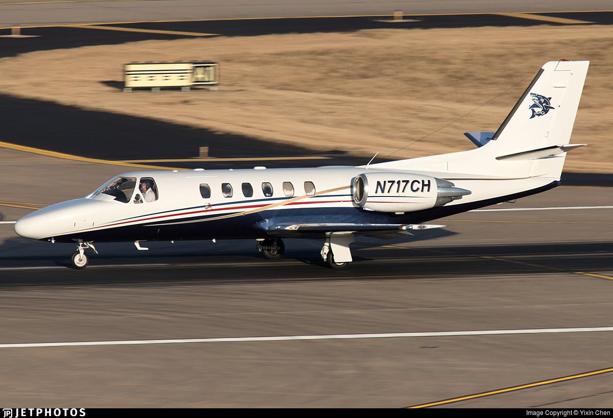 N717CH - Cessna 550B Citation Bravo - Private