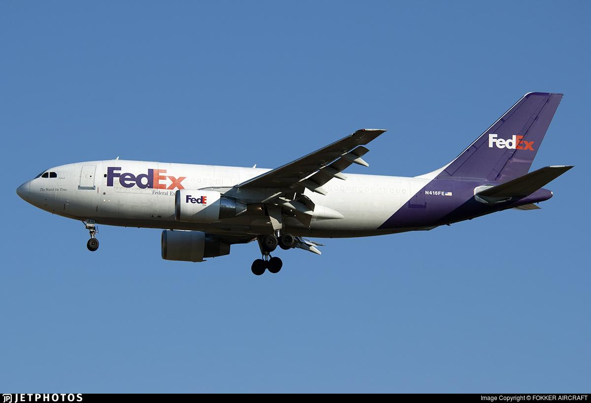 N416FE - Airbus A310-222(F) - FedEx