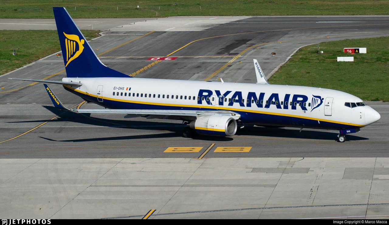 EI-DHS - Boeing 737-8AS - Ryanair