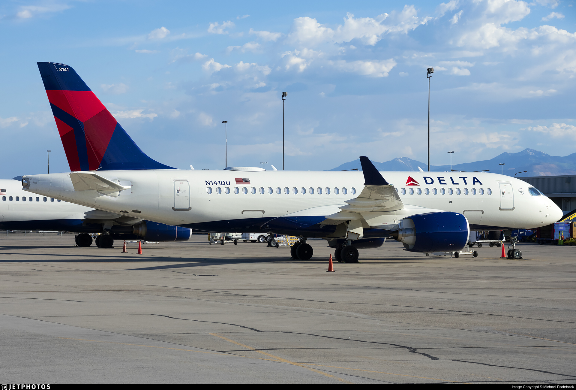 N141DU - Airbus A220-171 - Delta Air Lines