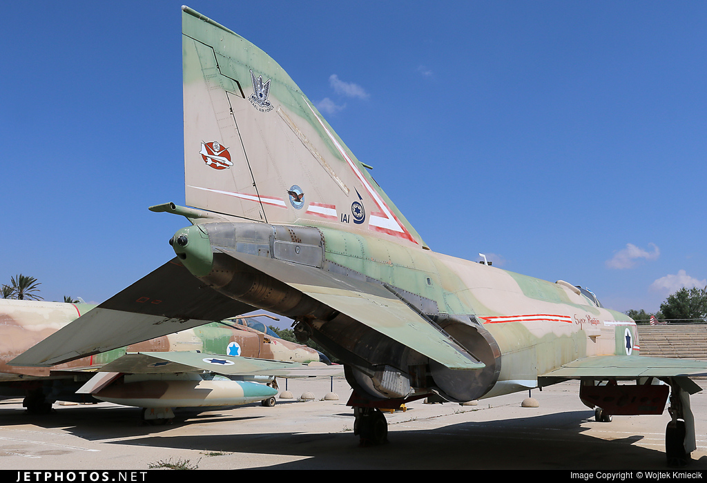 229 - McDonnell Douglas F-4E Kurnass - Israel - Air Force