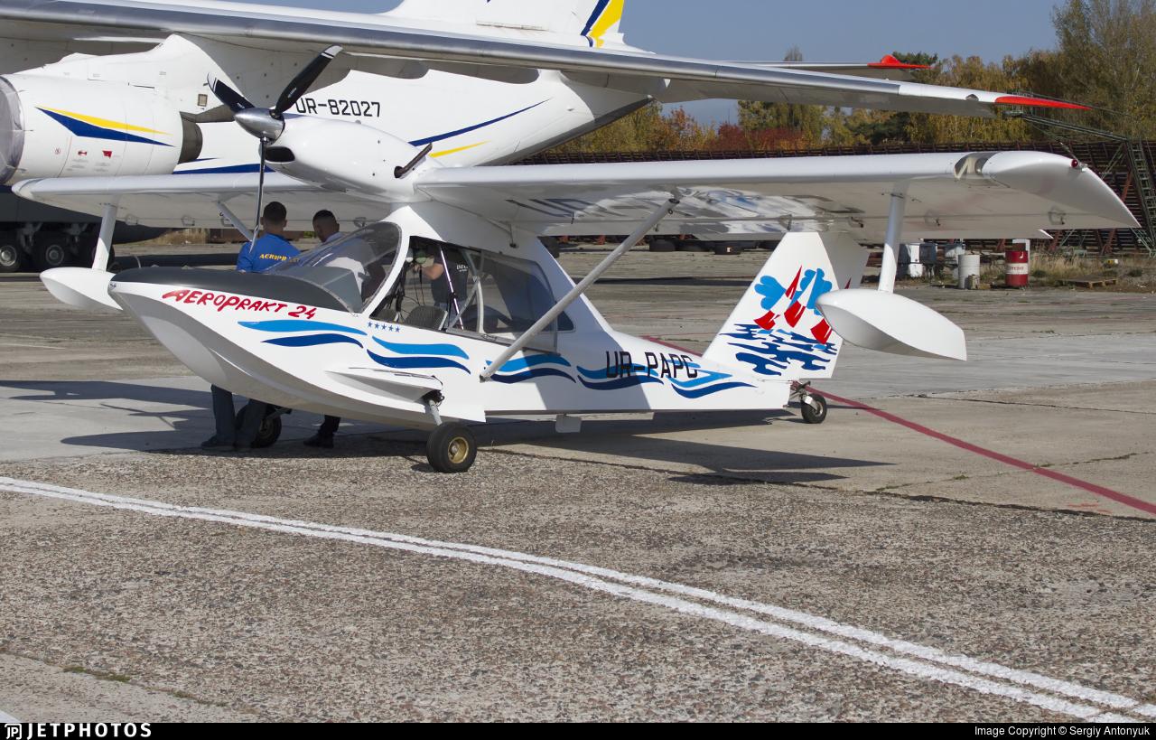 UR-PAPC - Aeroprakt A24 Viking - Private