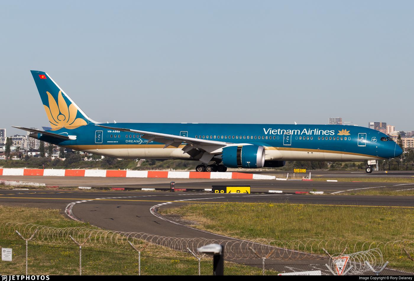 VN-A868 - Boeing 787-9 Dreamliner - Vietnam Airlines