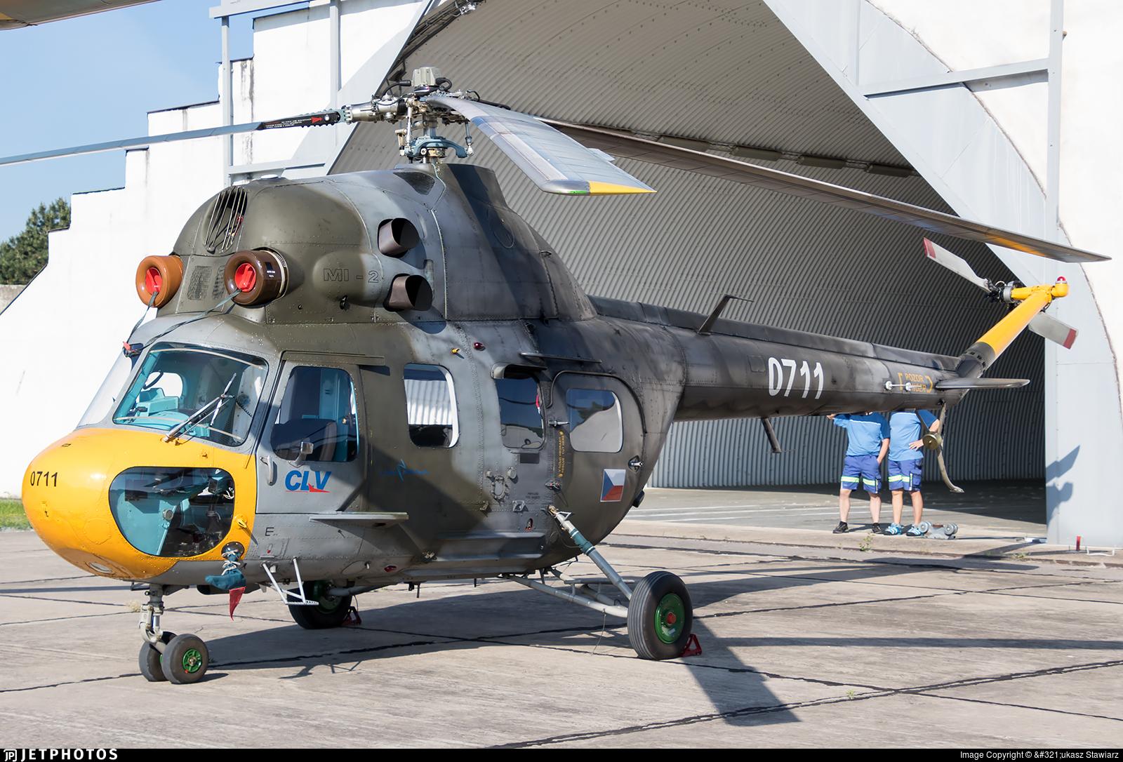 0711 - PZL-Swidnik Mi-2 Hoplite - Czech Republic - Air Force