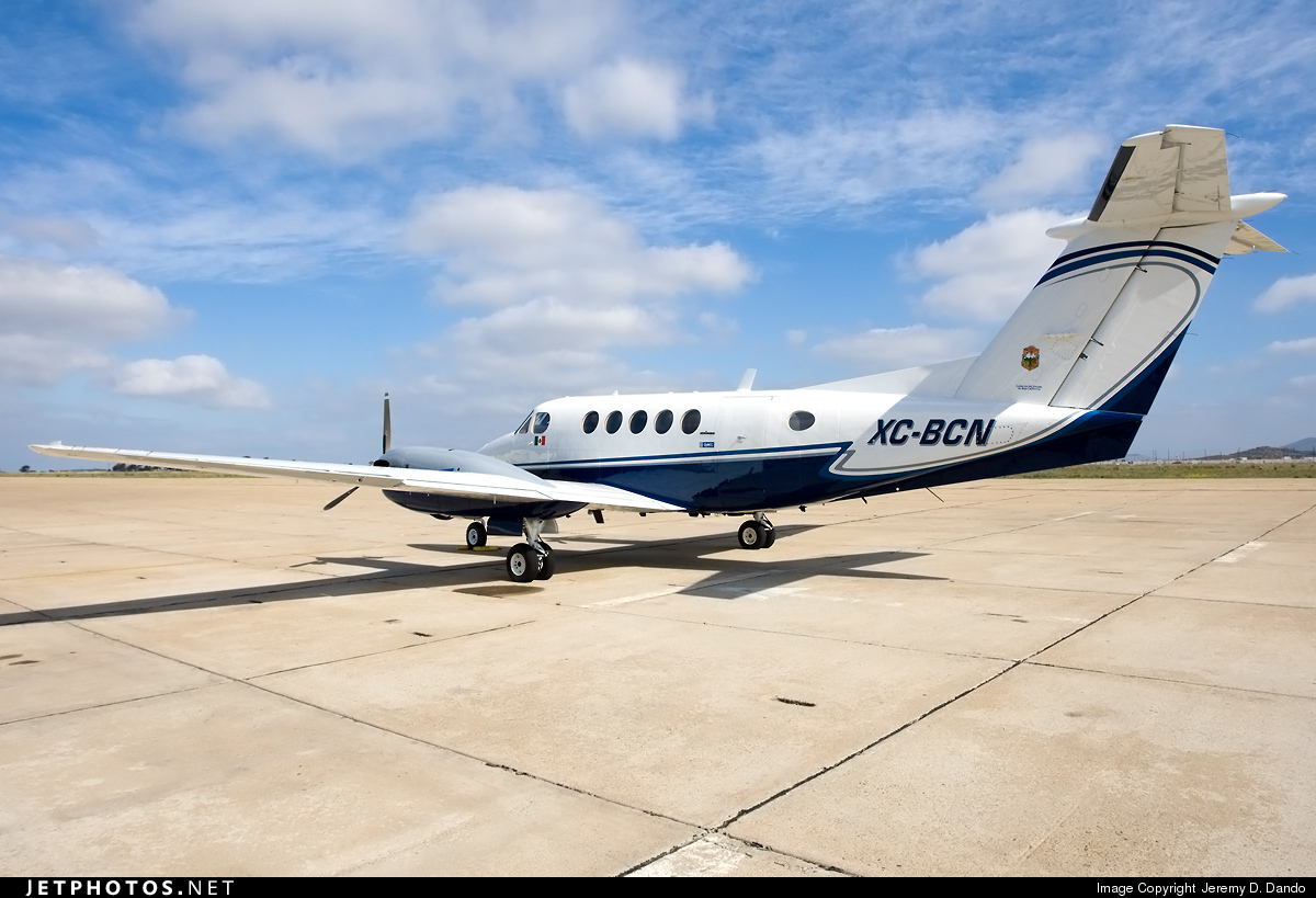 XC-BCN - Beechcraft 200 Super King Air - Mexico - Government