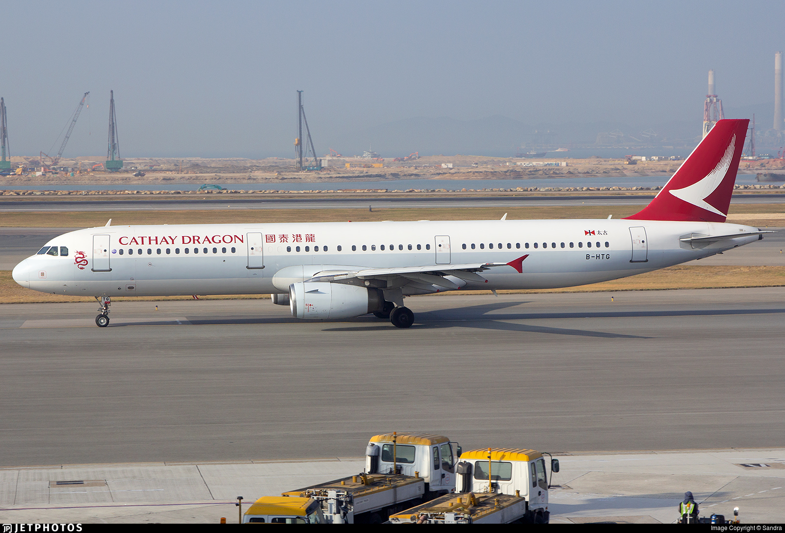 B-HTG - Airbus A321-231 - Cathay Dragon