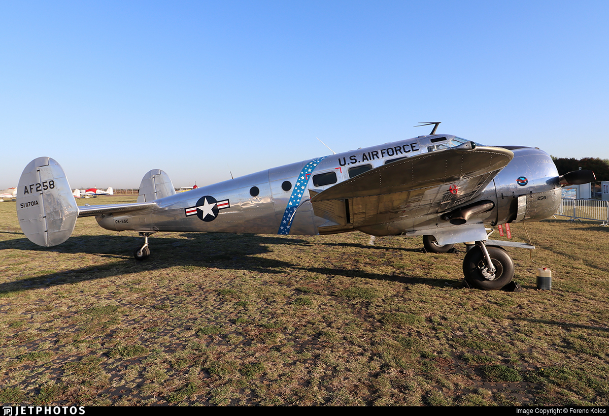 OK-BSC - Beechcraft C-45H Expeditor - Private