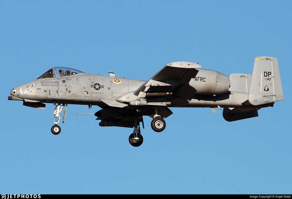 79-0147 - Fairchild A-10C Thunderbolt II - United States - US Air Force (USAF)