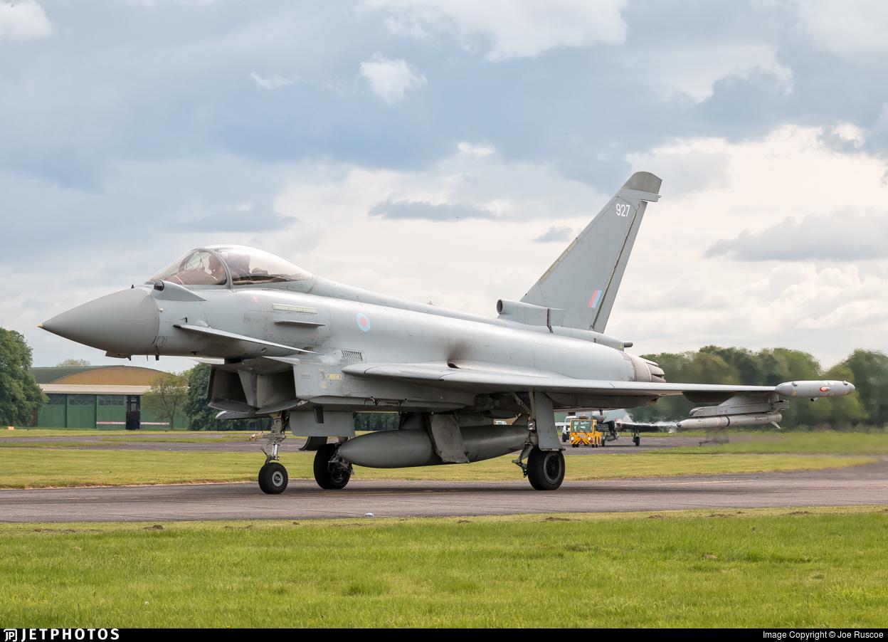ZJ927 - Eurofighter Typhoon FGR.4 - United Kingdom - Royal Air Force (RAF)