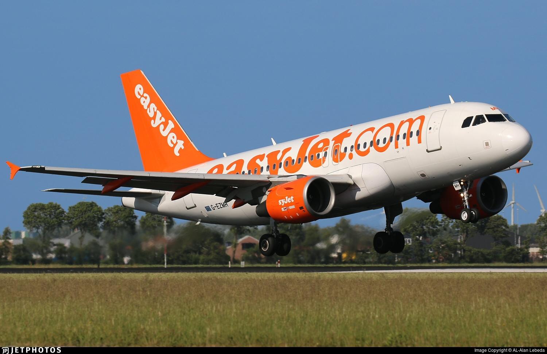 G-EZMH - Airbus A319-111 - easyJet