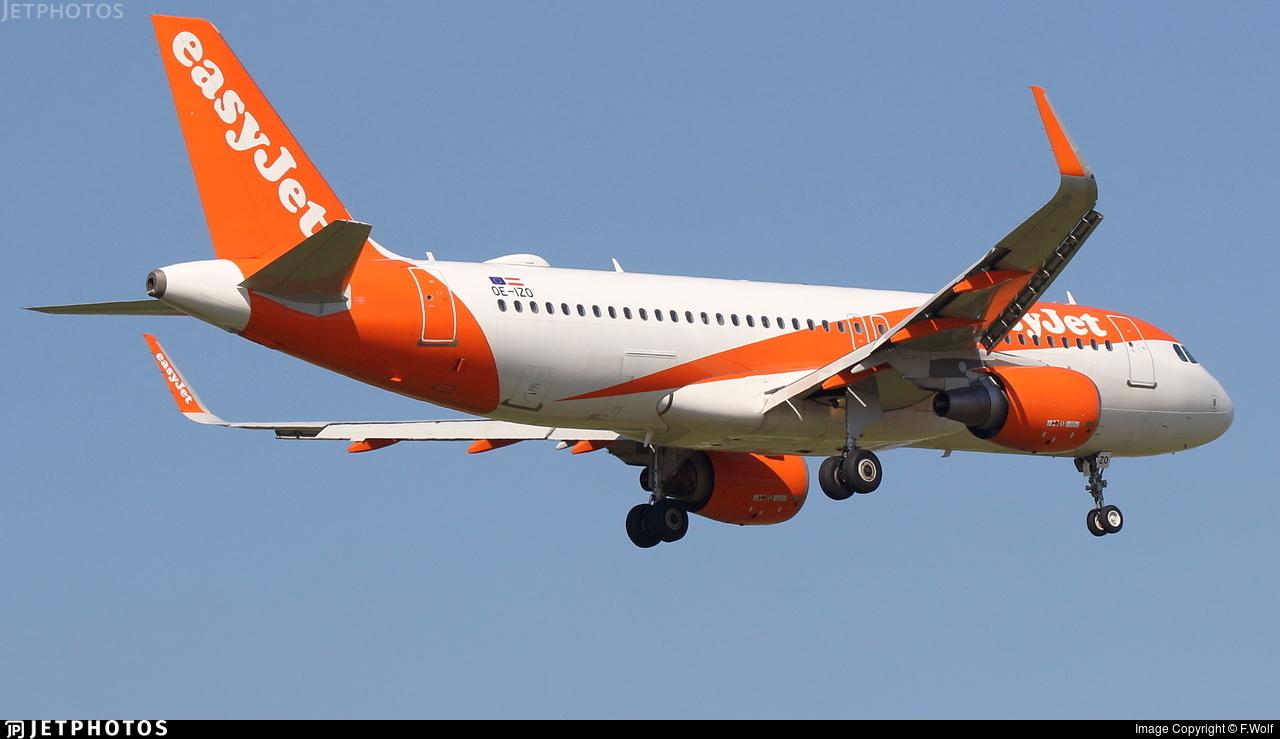 OE-IZO - Airbus A320-214 - easyJet Europe