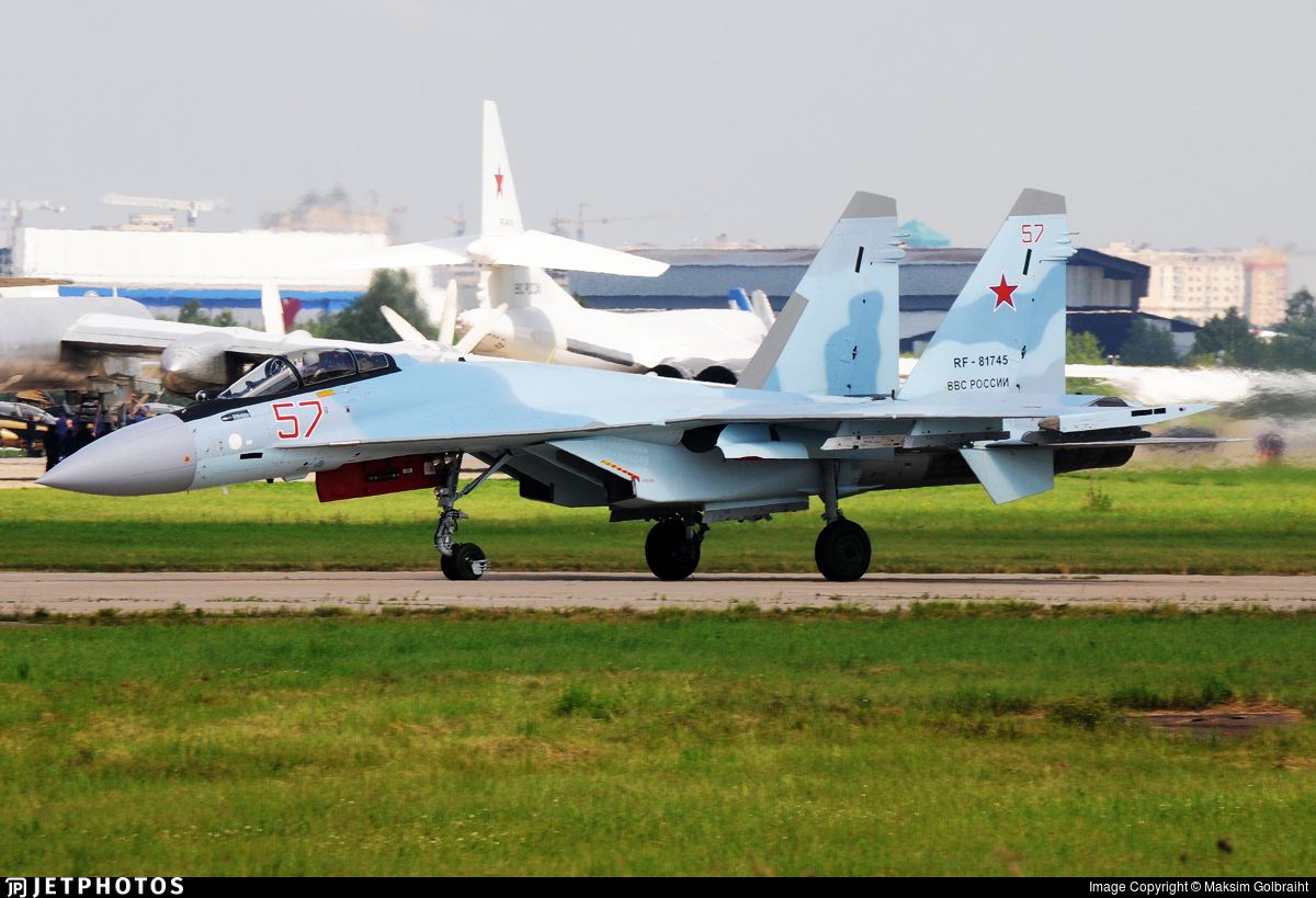 RF-81745 - Sukhoi Su-35S - Russia - Air Force