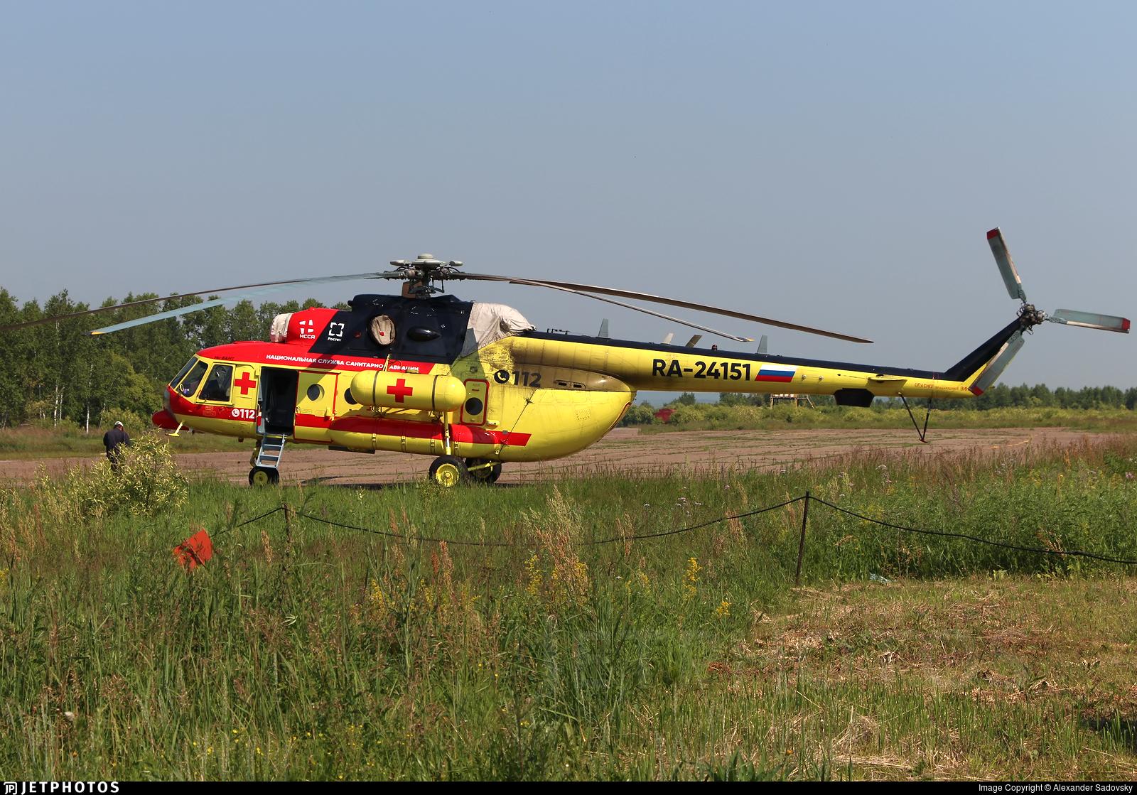 RA-24151 - Mil Mi-8AMT Hip - NAMS - National Air Medical Service (NSSA)