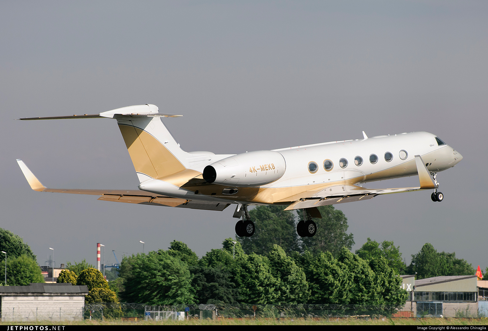 4K-MEK8 - Gulfstream G550 - SW Business Aviation