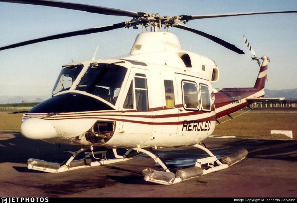 PT-HUV - Bell 412 - Aeroleo