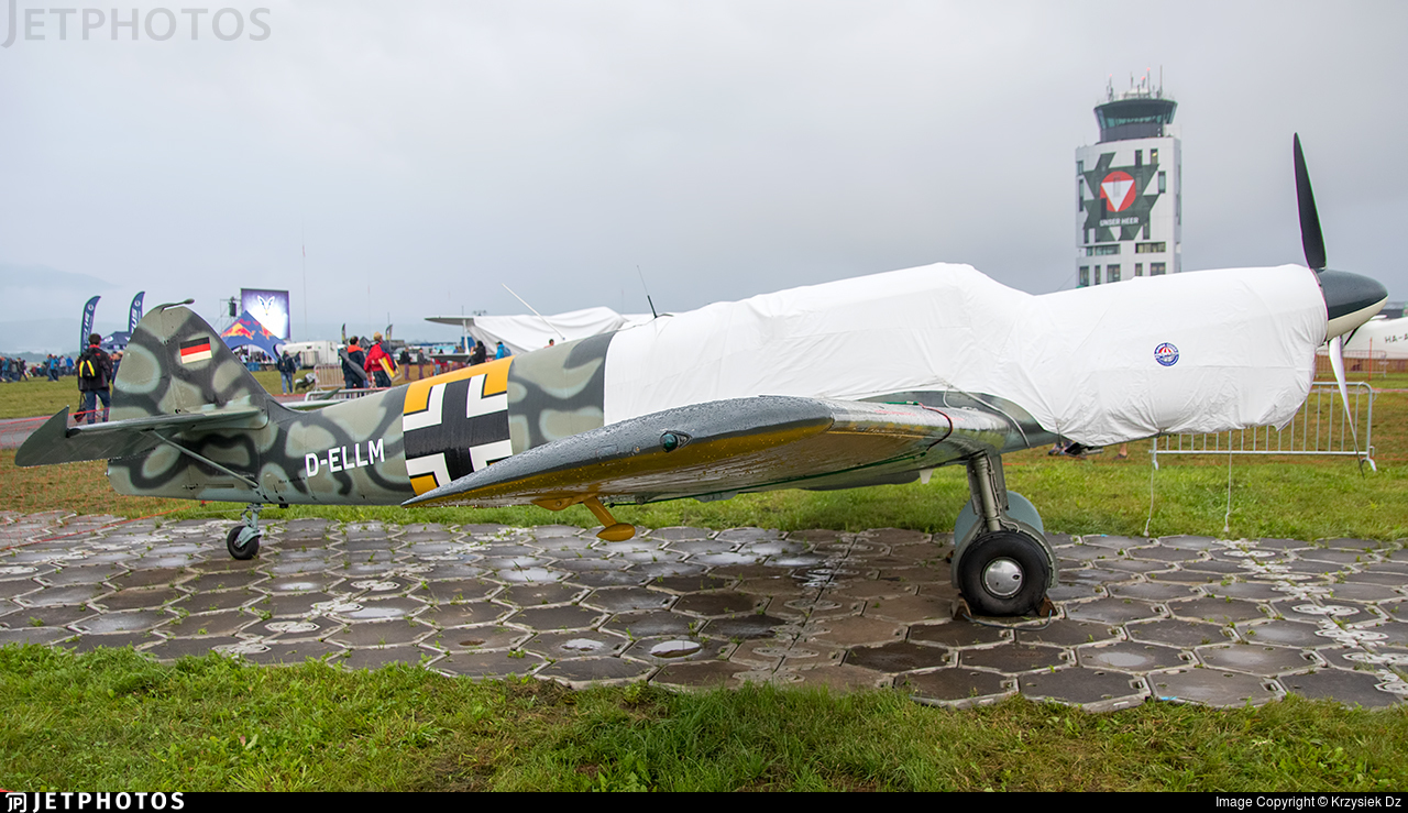D-ELLM - Messerschmitt Bf 108 Taifun - Private
