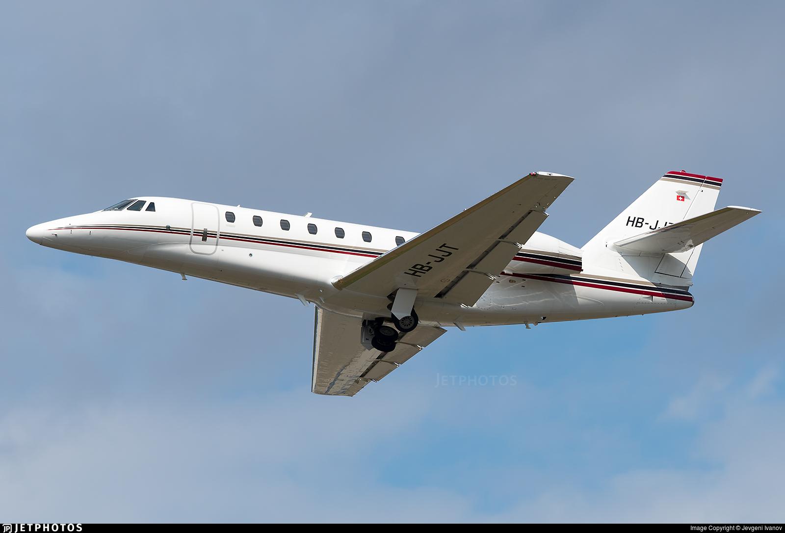 HB-JJT - Cessna 680 Citation Sovereign - Private