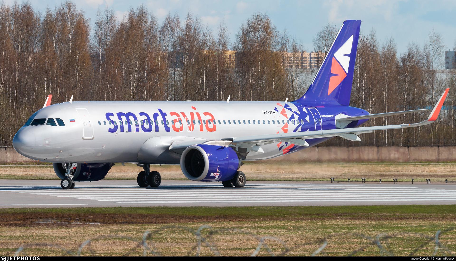 VP-BOF - Airbus A320-251N - Smartavia